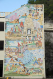 Mural on the side of the Ohana Bay View