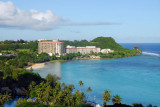 View south from the Marriott Guam to the Hilton Resort