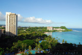 View of the south end of Tumon Bay from the Marriott
