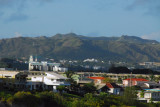 The hills of central Guam