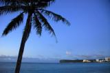 Tumon Bay at dusk from the Marriott Guam Resort