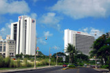 Entering Tumon, Guam's tourist center