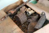 War relics found around the caves