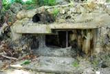 World War II bunker in front of the Marriott Resort, Tumon Beach