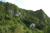 Cliffs at the north end of Guam