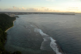 View from Two Lovers Point south to Tumon