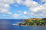 Umatac Bay and the southwest coast of Guam from Fort Soledad