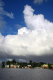 Cloud building over Koror