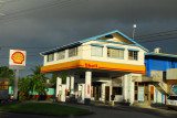 Shell station on the main street of Koror