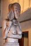 Female sculpture, Ngarachamayong Cultural Center, Koror