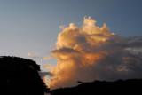 Late afternoon thunderstorm, Palau