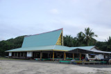 Meeting house of Ngaremlengui State, Palau