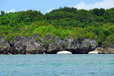 Ngemelis Island at the Big Drop-off