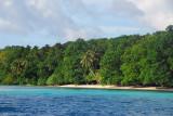 Beach on the east coast of Ngermeaus Island (N07 11.827/E134 22.650)