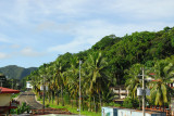 Main street of Malakal Island, Palau