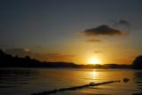 Sunset from Sam's Tours, Malakal Island, Palau