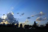 Zabeel Park at dusk