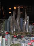 Model of The Lagoons, Dubai