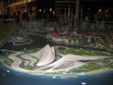 Model of the Dubai Opera House