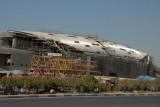 Dubai Metro Station under construction