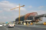 Dubai Metro Station along Sheikh Zayed Road