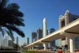 Dubai Metro, Sheikh Zayed Road