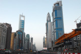 Building the track along Sheikh Zayed Road