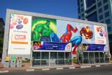 Marvel Heros at Dubailand