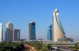 Etisalat Tower and Trade Centre area