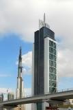 Millenium Tower and Dubai Metro