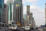 Sheikh Zayed Road's line of skyscrapers