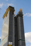 Acico Twin Towers (Nikko Hotel) under construction