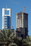 Chelsea Tower and Rolex Tower under construction
