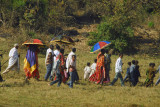 A small procession for Timkat, the Ethiopian Epiphany holiday