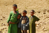 Local kids near the Blue Nile Falls