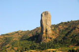 Pillar near Addis Zemen