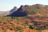 Farmland in the highland NW of Addis Zemen