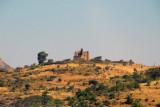 Hillside ruins of Guzara Castle, just a short distance off the main highway