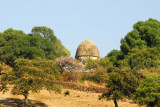 Odd domed structure south of Gondar