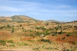 Agricultural landscape north of Gondar
