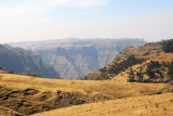 Western end of Simien Mountains National Park