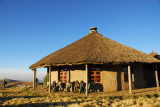 Bright morning, Simien Lodge
