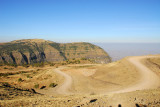 The previous day we hiked along the distant cliffs of of Buyit Ras