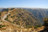 The park road leading to Sankaber, Simien Mountains