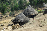 Thatched hut, Simien Mountains National Park