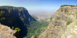 Panorama of Northern Escarpment, Simien Mountains National Park