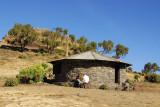 Park ranger hut at Chenek, Simien Mountains National Park