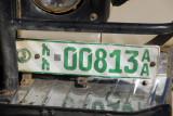 Ethiopian license plate (Addis Ababa)