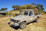 Land Cruiser belonging to Ethiopian Rift Valley Safaris