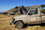 Ethiopiain Rift Valley Safaris Land Cruiser at Chenek